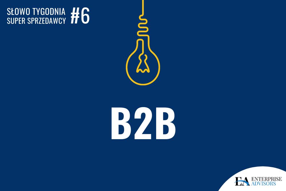 Co to jest B2B?