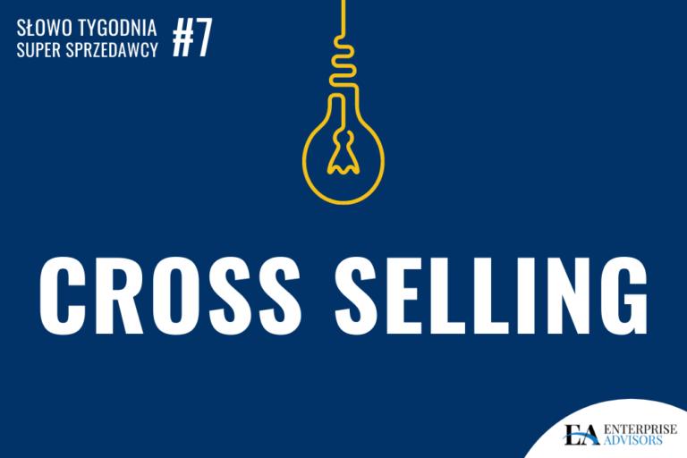 grafika znapisem Cross Selling